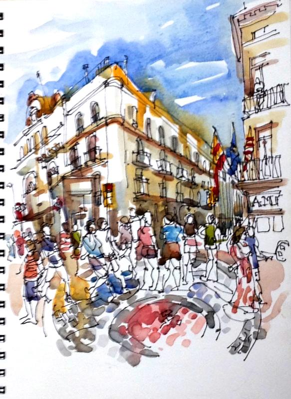 Miro Mosaic, Barcelona