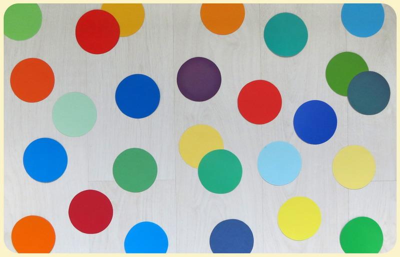Игры цветом предметы одного цвета