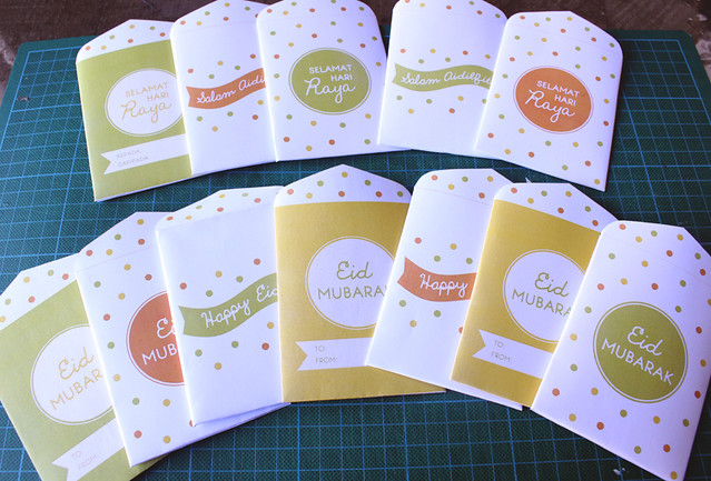 In My Studio | Free Bonus Printable – Eid Money Packets/Envelopes!