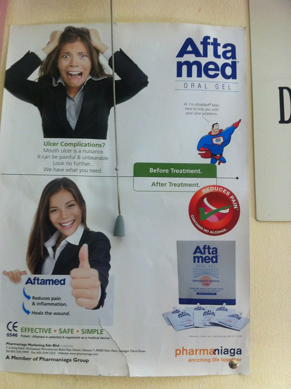 OEM selling ulcer medication in Sabah, Malaysia.