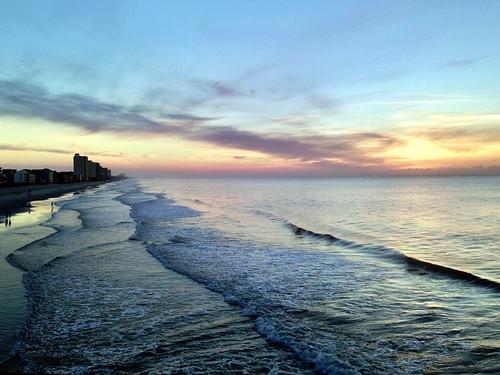 sky sun beach sc sunrise iphone gardencity iphone5
