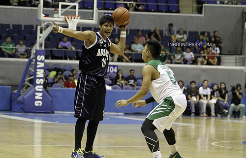 UAAP Season 76: De La Salle Green Archers vs. Adamson Falcons, Aug. 14