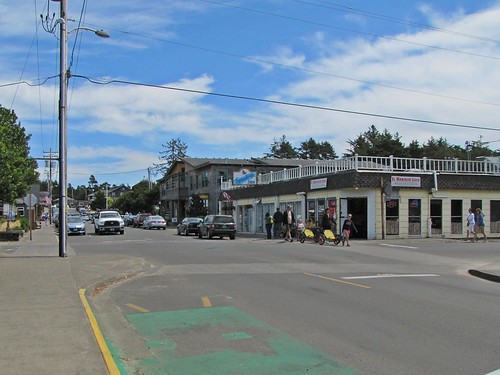 main street in Manzanita