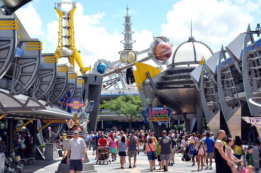 Disney's Magic Kingdom - Tommorowland