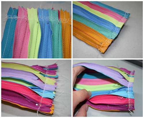 Zipper pouch step 3