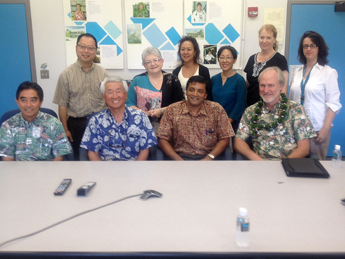 Farewell visit to UH Maui College