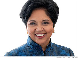 Indra Nooyi, Chairperson and Chief Executive Officer of PepsiCo, 12 inspiring business people - Anil Labs