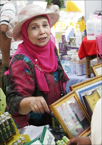 Stall at the Phuket Halal Expo