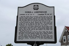 Nobska Lighthouse Historical Marker