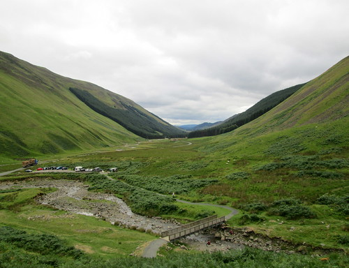 Near the Grey Mare's Tail