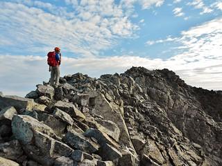 The Last 50 Feet of SW Ridge of Ellingwood Point