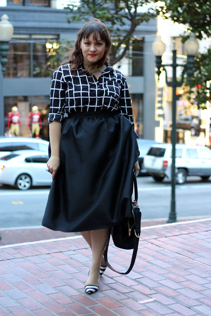 The Perfect Full Midi Skirt