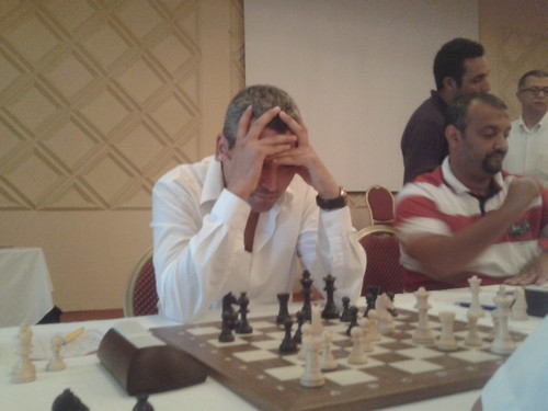 Chafik Idrissi (MAR) - Número 1 del torneig