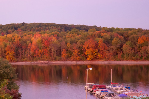 Codorus marina sunset