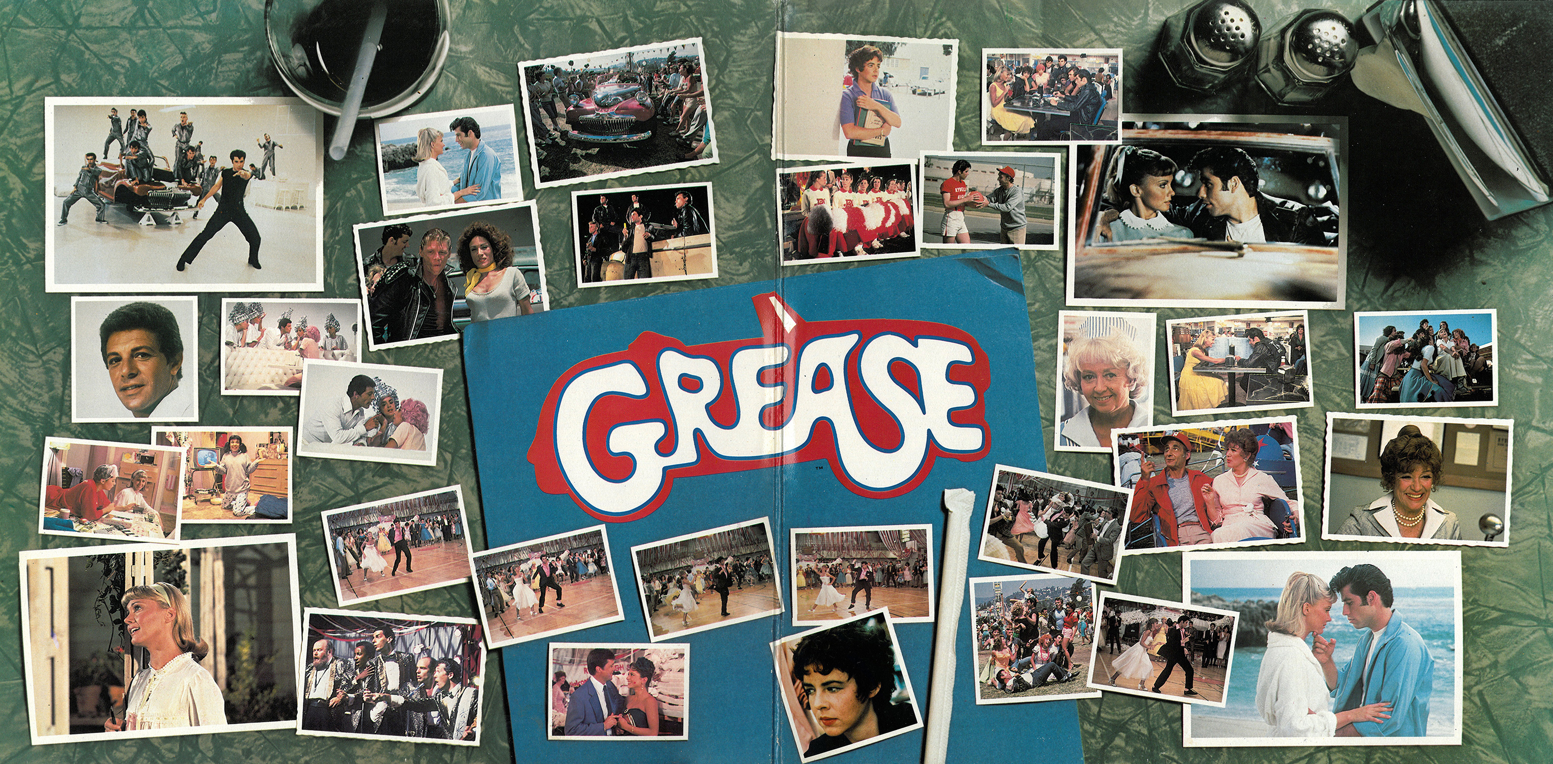 Grease Lp Cover Art