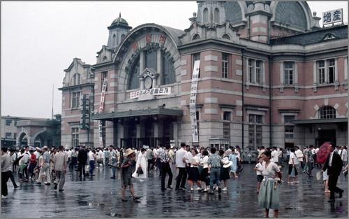 Seoul Station 1968-08-06 서울역 N°68D08-0704