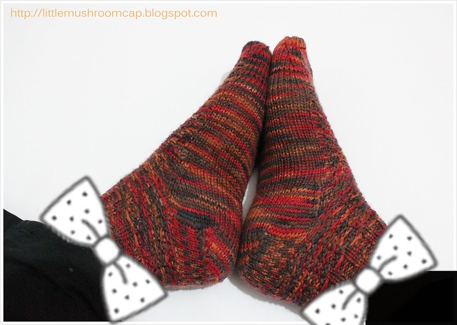 1_knitted sock_first