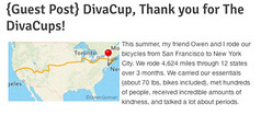 Thanks for the buzz, DivaCup!