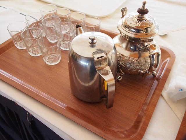 今日早餐-薄荷茶