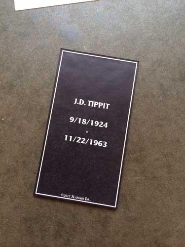 2013 SlangKo J.D. Tippit back