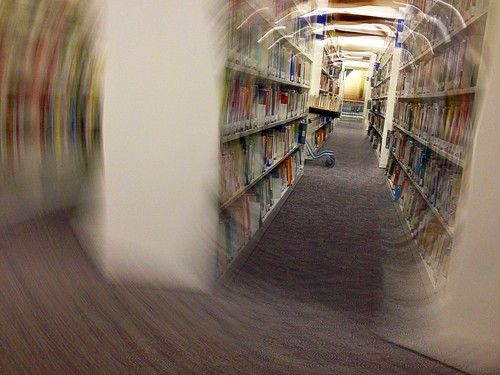Library Focus by Tuzen