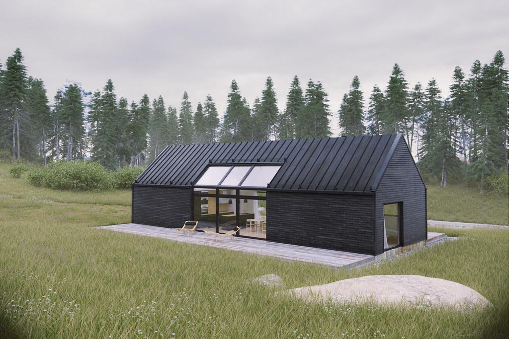 Black Summer House