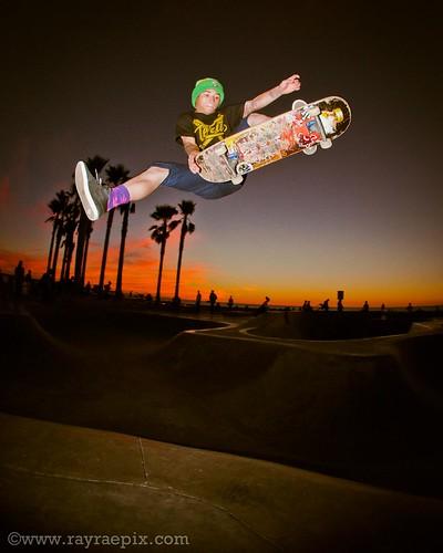 Venice Skatepark - Daniel Delaveaux 12-5-13