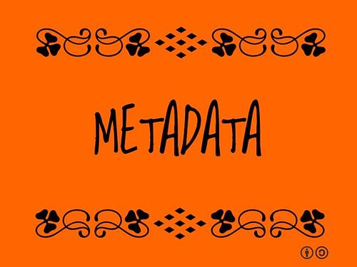 Buzzword Bingo: Metadata
