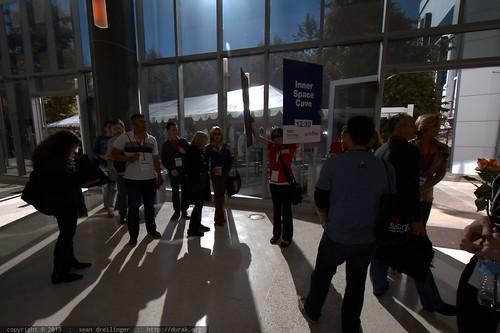 Gathering for Experience Breaks   TEDxSanDiego 2013
