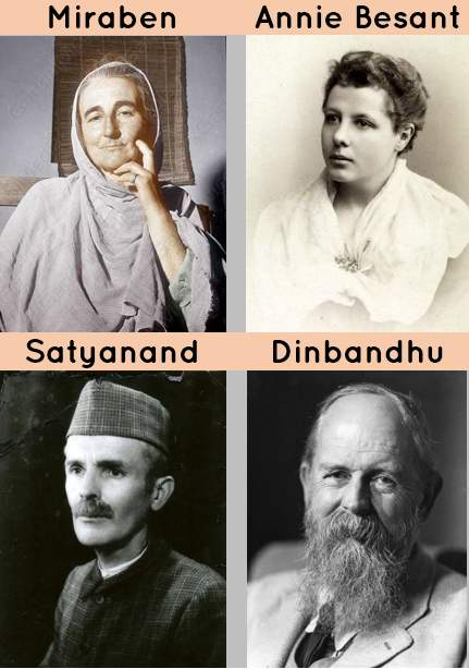 Foreigners who played role in India's Freedom struggle