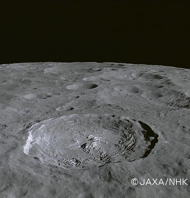 Jackson crater (Kaguya)