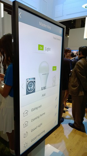 Samsung Smart Home App, CES 2014