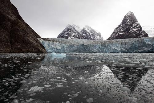 Glaciers are receeding