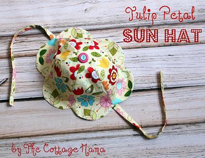 tulip petal hat