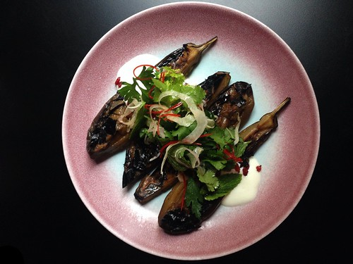 BBQ eggplant