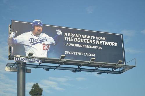 Adrian Gonzalez Dodgers Billboard
