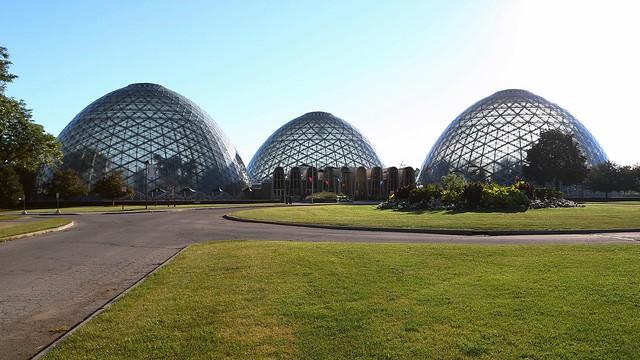 Summer morning at the domes