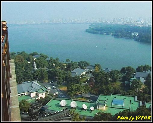 杭州 西湖 (其他景點) - 353 (從西湖十景之 雷峰塔上鳥瞰西湖十景之 柳浪聞鶯及市區)