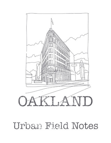 Oakland Field Notes cover by douglaswittnebel
