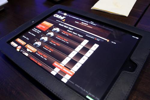 iPad Order
