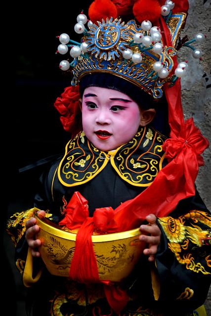 Chinese Opera kid 小財神