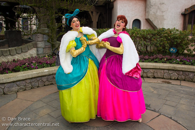 Anastasi and Drizella cause havoc in Fantasyland