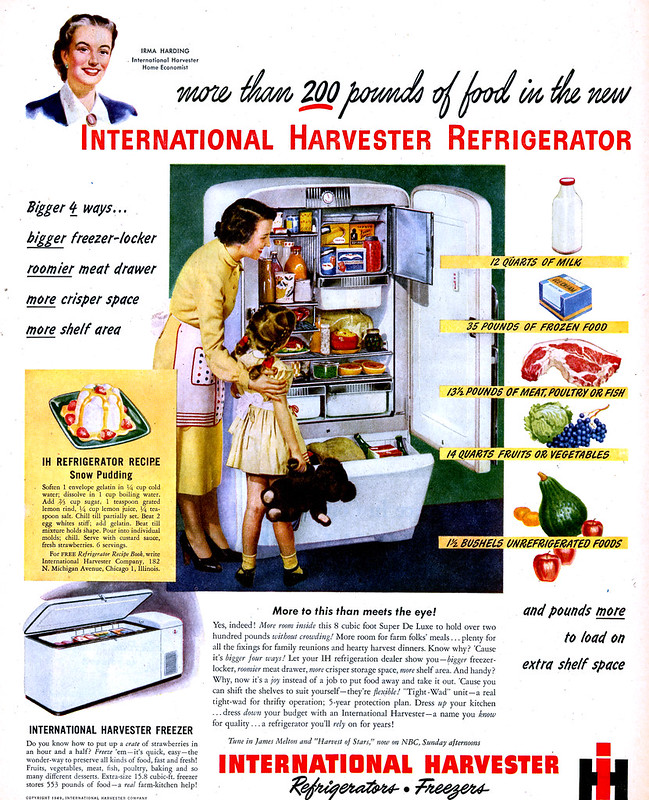 1949 IH Refrigerator