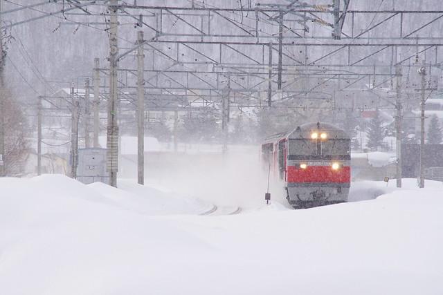 大型ディーゼル機関車DF200①