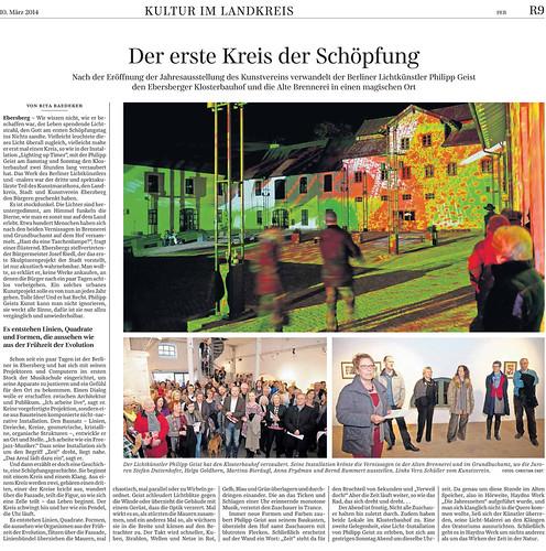 SZ vom 10.März 2014 Seite R9 Ebersberg