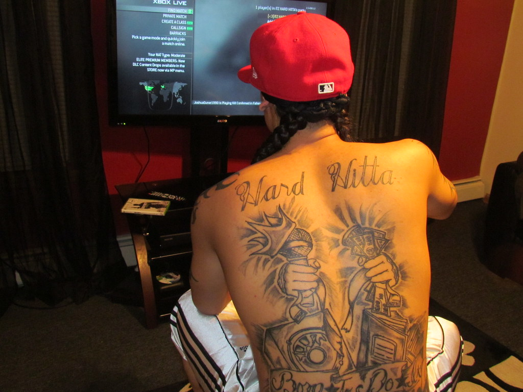 Back Tattoos Back Tattoos Hard Hitta Flickr