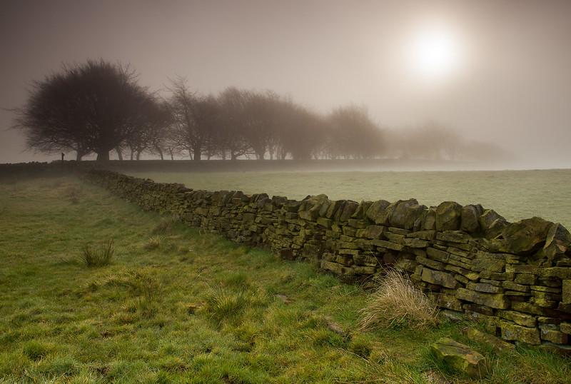 Pennine mist, West Yorkshire