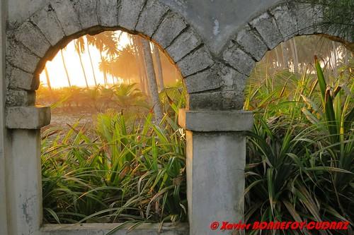 sunset civ côtedivoire ruines assinie sudcomoé côted'ivoirela