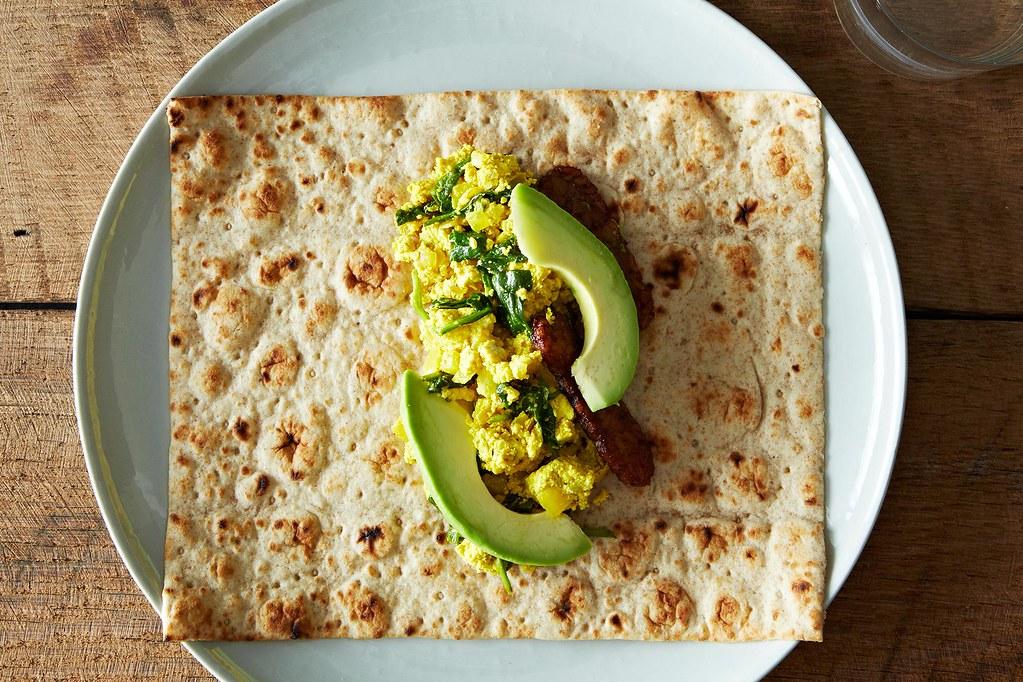 Easy Tofu Scramble - Healthy Vegan Recipes