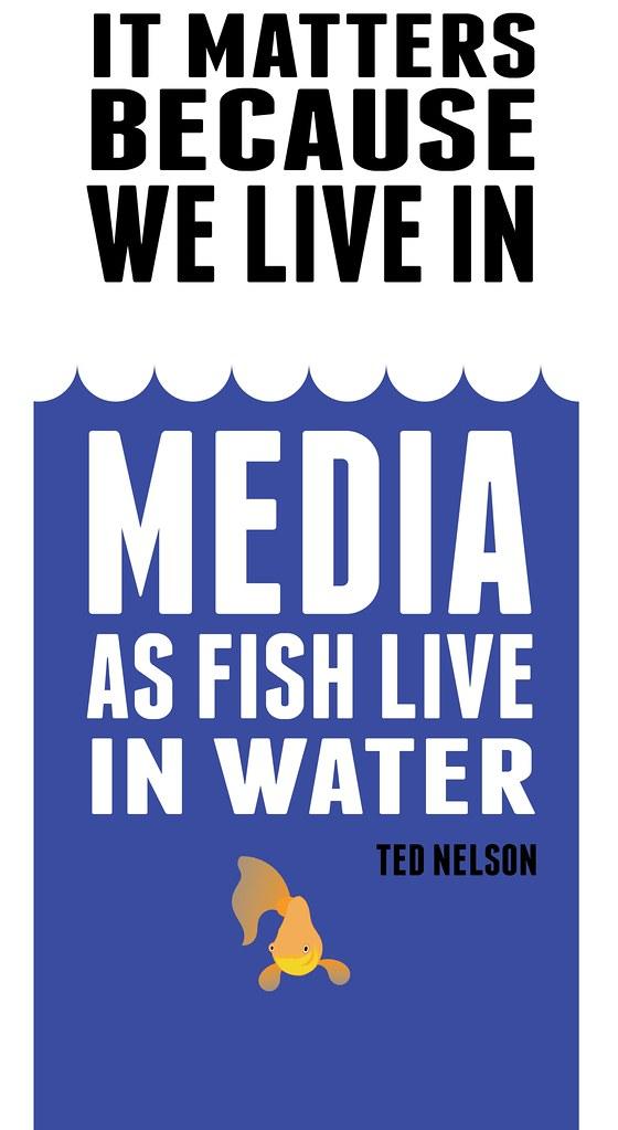 We live in media